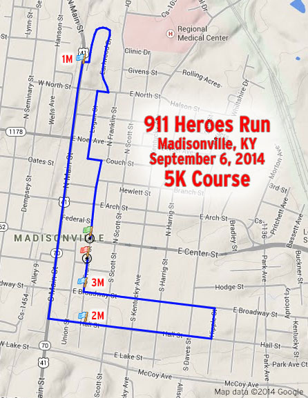 madisonville-911-5k-course