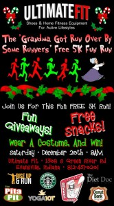 """""""Grandma Got Run Over By Some Runners"""" Free Fun Run @ Ultimate Fit 