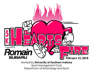 Hearts On Fire 5K