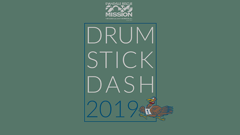Evansville Rescue Mission Drumstick Dash 8K & 5K